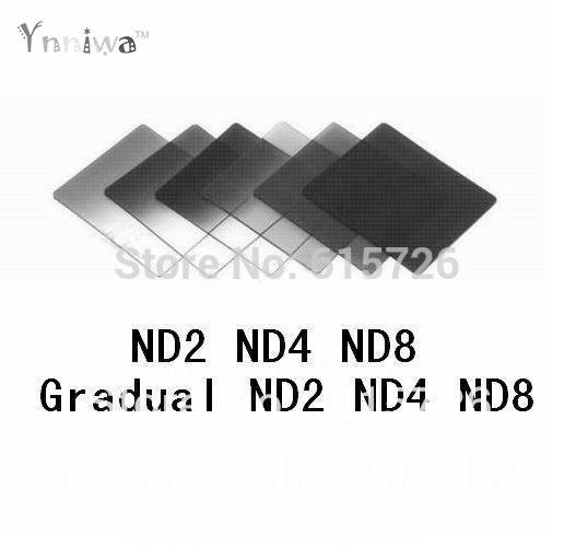 6 unids ND2 ND4 ND8 + gradual ND2 ND4 ND8 filtro F cokin p