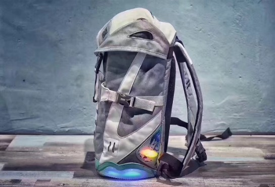 Back To Future Led Light Backpack Fashion Air Mag Bag Cosplay Sneaker Backpack