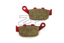 Motorcycle parts Brake Pads Fit HONDA CBR 250 RRL/RRN/RRR 1990-1994 Rear OME Red Ceramic Composite Free shipping