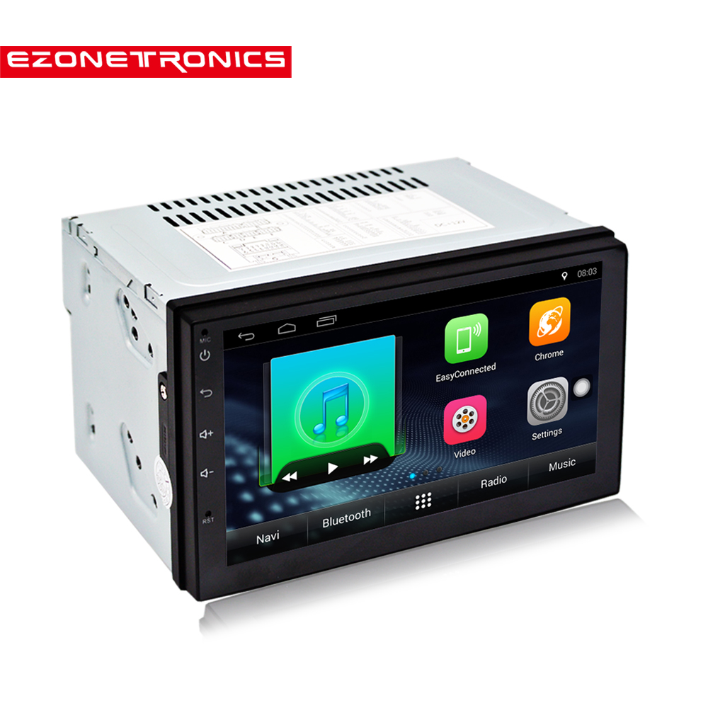Android 6 0 Car Radio 7 2din No DVD Universal Touch Screen High Definition1024x600GPS Navigation