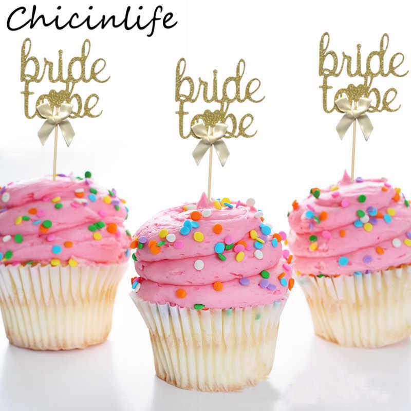 Hen Party 12 pcs or 24 pcs Diamond ring Cupcake Toppers  Bachelorette Party Engagement Party Decoration Bridal shower Wedding