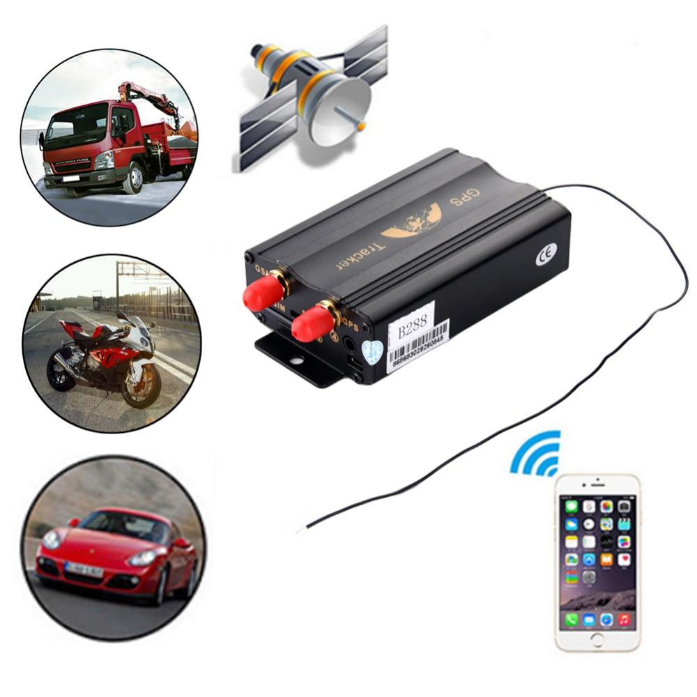 цена на New TK103B Car GPS Tracker Waterproof Vehicle Locator Remote Control Monitoring Surveillance Emergency Alarm Cut Off Oil Power