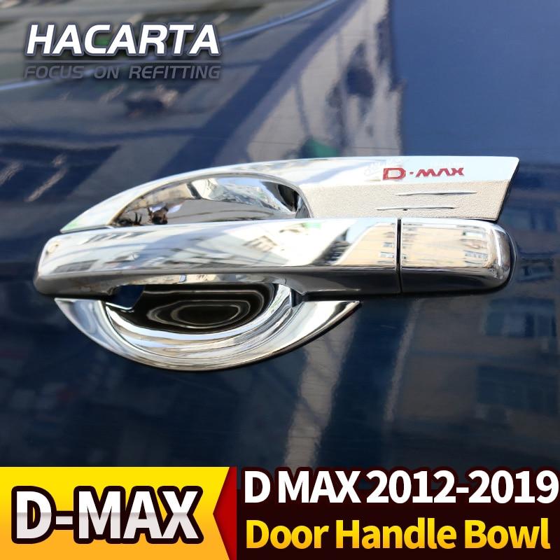 CHROME MOULDING SIDE BODY TRIM 4 DOORS FIT FOR ISUZU D-MAX DMAX 2017-2018