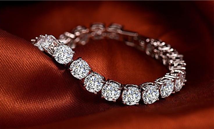 Permalink to Tennis Mens Silver Bracelets