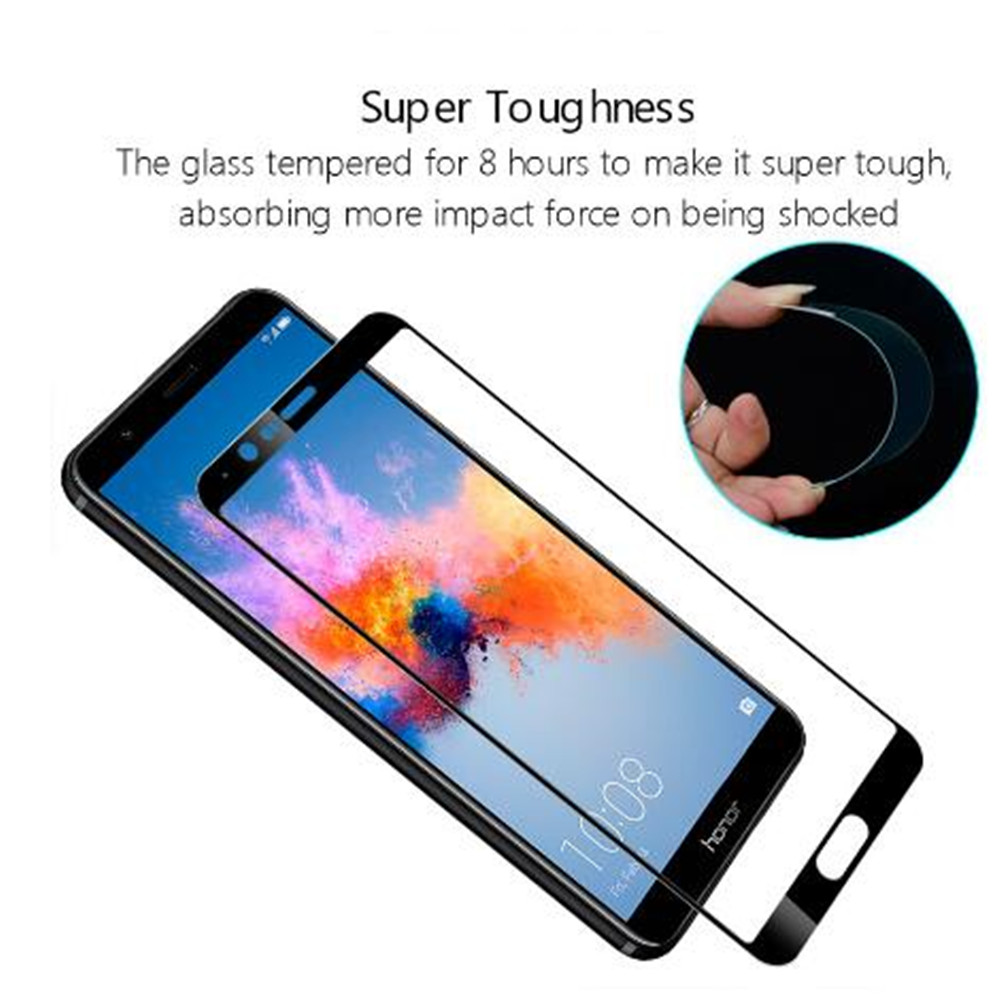 Image 4 - 2PCS Full Cover Screen Protector For Blackview A60 Tempered Glass On The For Blackview A60 Pro Protective Glass Film-in Phone Screen Protectors from Cellphones & Telecommunications