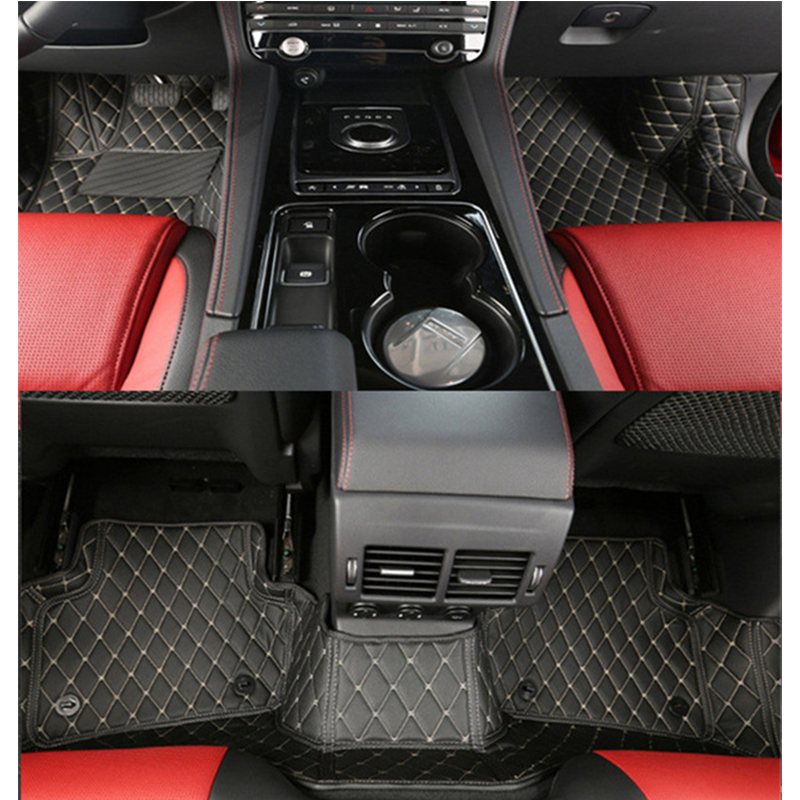 High end Custom Car Floor Mats for Jaguar F PACE LHD All 3D Liner Surrounded Waterproof