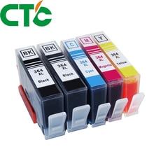 КТК, 5 шт в упаковке 364XL Совместимость Замена чернильных картриджей для 364 xl для Deskjet 3070A 5510 6510 B209a C510a C309a принтер