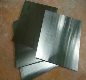 Image 1 - 1mm x 230mm x 360 mm גבוהה טוהר טונגסטן גיליון צלחת למחקר מדעי ניסוי