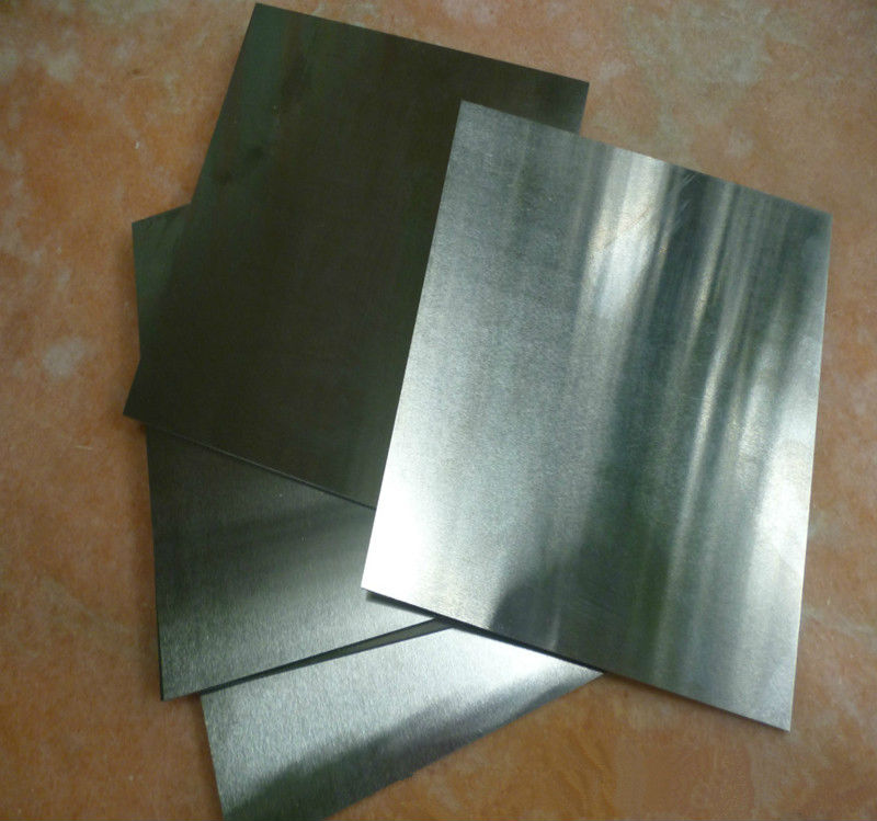 2.5x25x46mm High Purity Tungsten sheet plate for Scientific research and experiment tungsten sheet plate for scientific research and experiment high purity