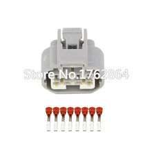 цена на 10 sets 8 pin headlamp plug harness connector With terminal DJ7083Y-2.2-21 car connector female