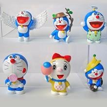 Machine Cat Doraemon Edition Action Figure Toys 6CM PVC Doraemon Collectible Ornaments Model Toy Exquisitely Commemorative Gift