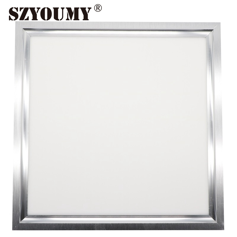 Фотография SZYOUMY 600 x 600 LED Square Panel Light 40W High Bright Warm White And Pure White LED Downlight With CE And Rohs