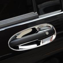 Car Door Handle Exterior Excent Auto Decorative Automovil Parts Modification Trim Protecter 18 19 FOR Mercedes Benz V Class