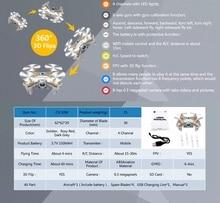 WiFi Drones With Camera Cheerson CX-10W Quadcopters