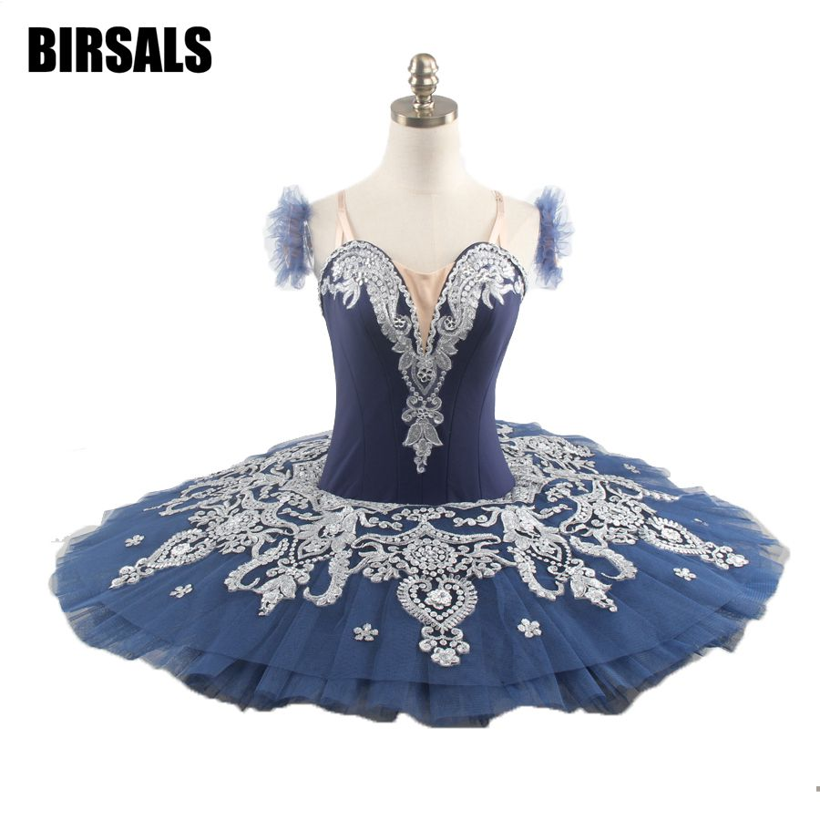 dark-blue-white-girls-professional-font-b-ballet-b-font-tutu-child-doll-paquita-variation-peformance-platter-stage-font-b-ballet-b-font-tutu-costumebt9082b
