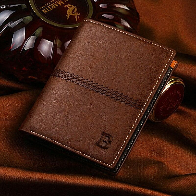 Luxury Famous Designer PU Leather Male Wallets Men Bifold Purse Clutch Bags font b Money b