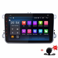 8 Quad Core 1024 600 2 Din Android 5 1 1 Car Stereo GPS Navigator Head