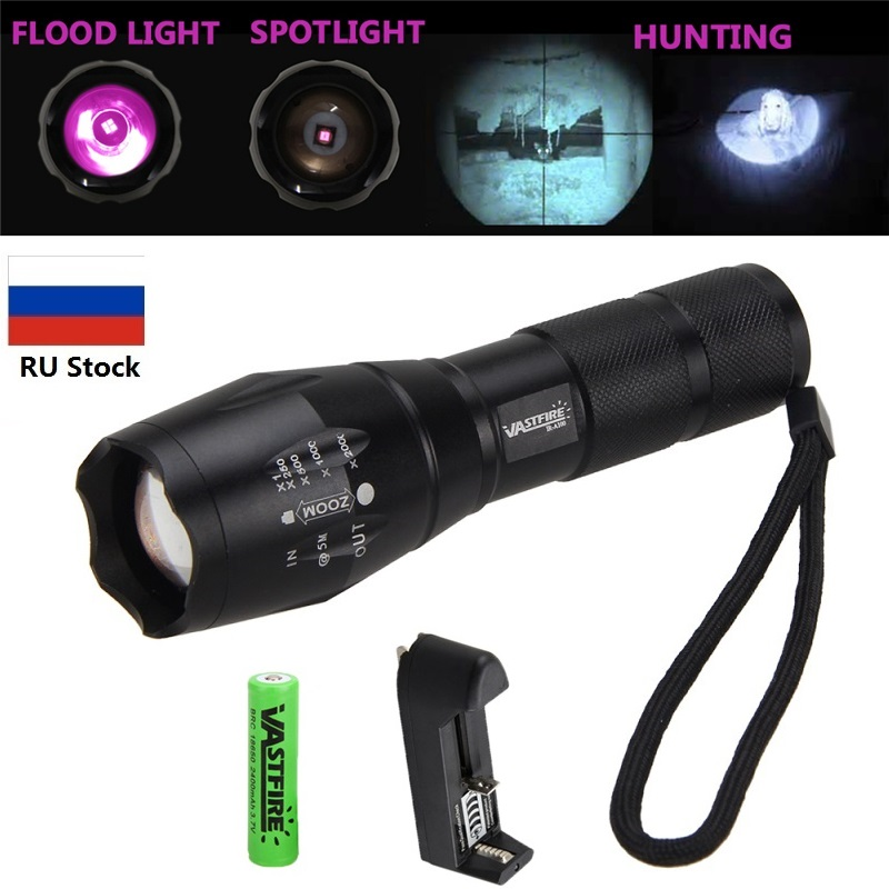Vastfire IR 850nm Night Vision Flashlight Torch Waterproof Infrared Zoomable LED Light To Be Used With Night Vision Device