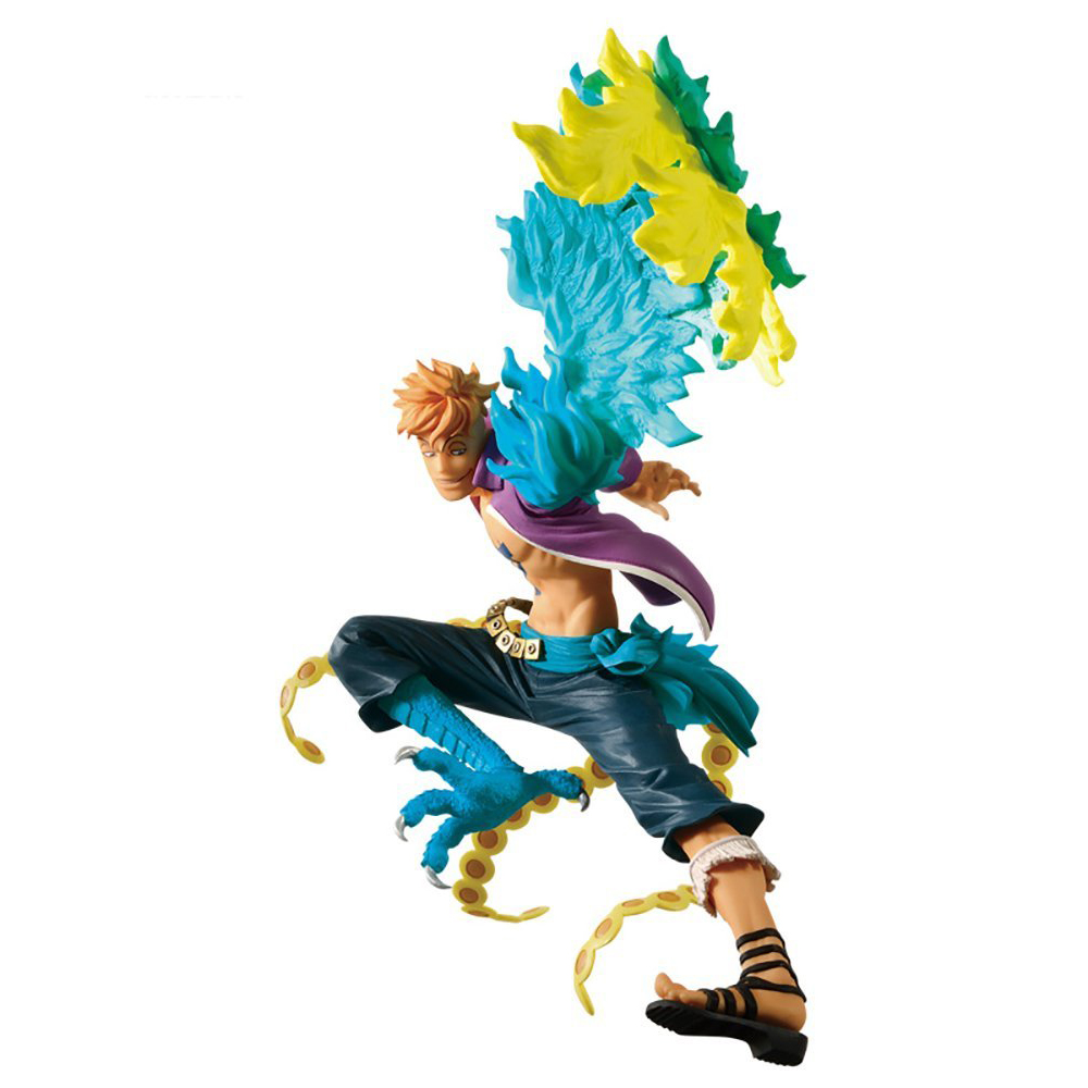 Anime One Piece Marco Action Figure 1/8 scale painted PVC Figure Collectible Toy 15cm july arrival free shipping 1pcs japana anime one piece karoo duck fishing pvc figure toy tall 15cm newest karoo duck figure
