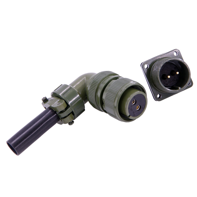 цены Military standard connector 5015 connector MS3108A18S-3S 2 pins Servo motor connector