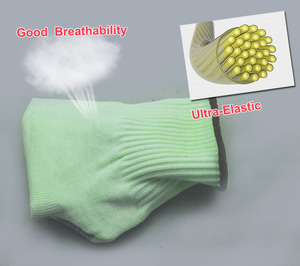 Image 5 - NMSafety Wholesale Shock Absorbing Mechanics Impact Resistant Work Glove Anti Vibration Oil Safety Glove