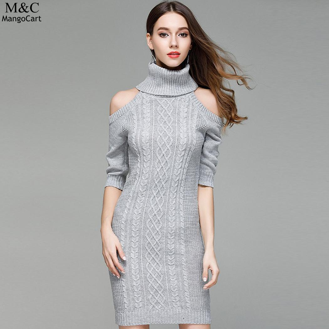 7bf83c5ee2d Buy knit cable dress and get free shipping on AliExpress.com