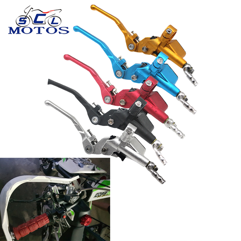 Sclmotos-  1200mm 7/8'' Motorcycle Hydraulic Clutch Master Cylinder Rod Fit ATV Motocross Pit Bike Off Road Racing CRF WR250