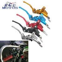 Sclmotos-1200mm 7/8 ''motocicleta embrague hidráulico cilindro maestro ajuste ATV Motocross Pit Bike Off Road Racing FCI WR250