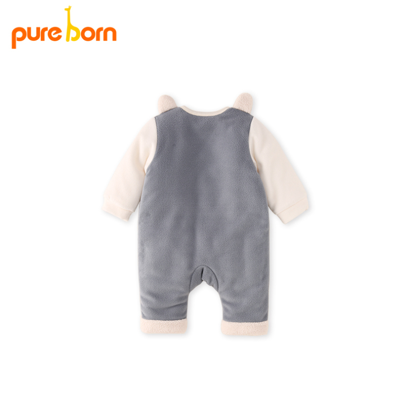 7d2e5f12e Buy Pureborn Children Winter Overalls Baby Romper Baby Clothes ...