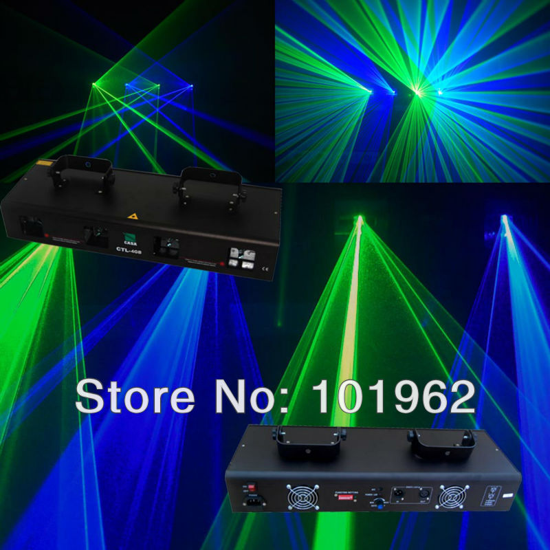 Hot Sale New China Stage Light 100mW 450nm Blue Laser+40mW Green Laser+100mW 450nm Blue Laser+40mW Green Laser Dj Equipment
