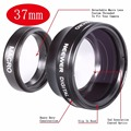 Neewer 37MM 0.45X Wide Angle Lens + Macro + Lens Bag for  Canon and Any Camera with a 37MM Filter Thread Free Shipping