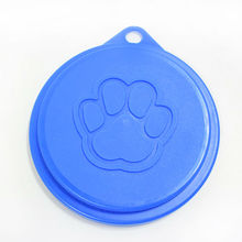 10Pieces/Pet Plastic Canned Cover Claw Print Style Pet Products Dog Bowl Lid Cat Tableware Food Lid Dog Supplies