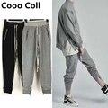 Новая Мода мужские брюки Джастин Бибер Hip Hop Страх Божий теплые брюки kanye west Штаны Длинные брюки Черный Серый Cooo Coll