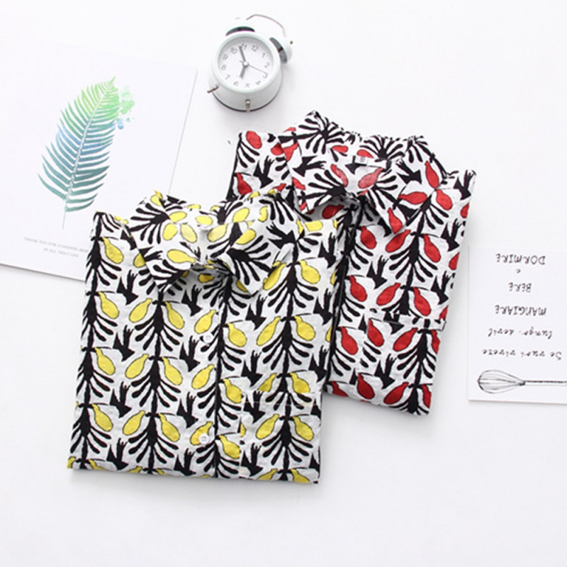 Women Floral Print Shirts Tops Long Sleeve Beach Style Blouse Women Summer Casual Lapel Collar Tops blusas mujer de moda 2019 in Blouses amp Shirts from Women 39 s Clothing