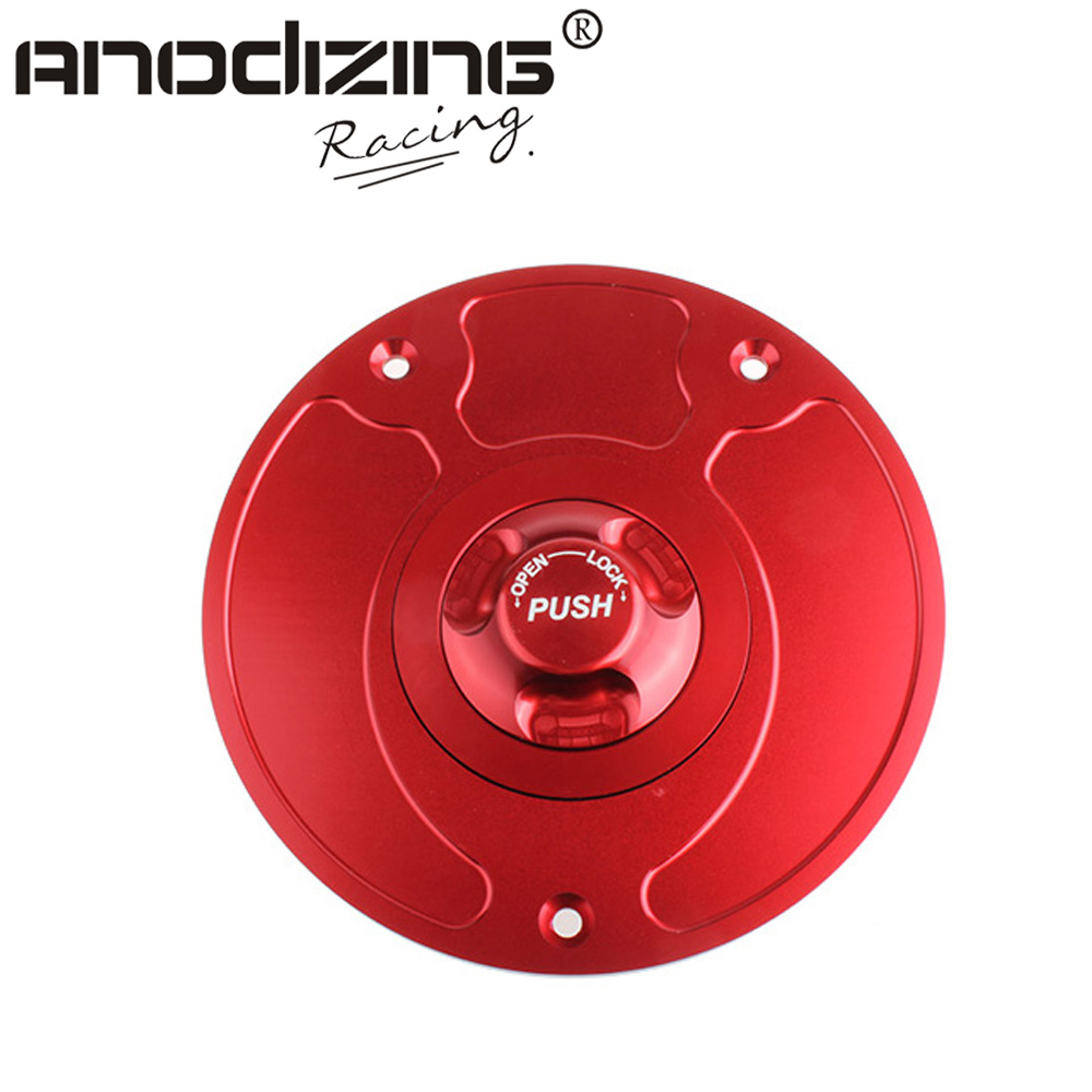 Motorcycle New CNC Aluminum Fuel Gas CAPS Tank Cap tanks Cover With Rapid Locking For KAWASAKI VERSY Z750 Z1000