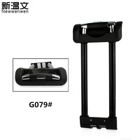 Replacement Telescopic Rods Luggage Handle,luggage parts Handle,Repair Telescopic Trolley Handles for Suitcases G079#