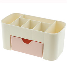 Plastic Storage Box Makeup Organizer Case Drawers Cosmetic Display Storage Organizer Office Sundries Make Up Container Boxes multi layer plastic makeup drawers storage box jewelry container make up organizer case cosmetic office boxes large capacity