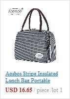 saco moda térmica isolado sacos comida piquenique lancheira saco para homens