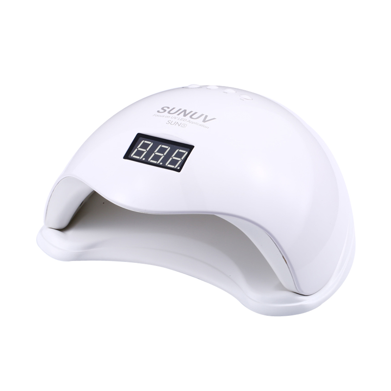 SUN5 48 w Blanc Lumière Professionnel LED et Lampe UV Pour Gel Machine Infrarouge Capteur Minuterie Ensemble Gel UV gel Vernis À Ongles gel Nail lampe
