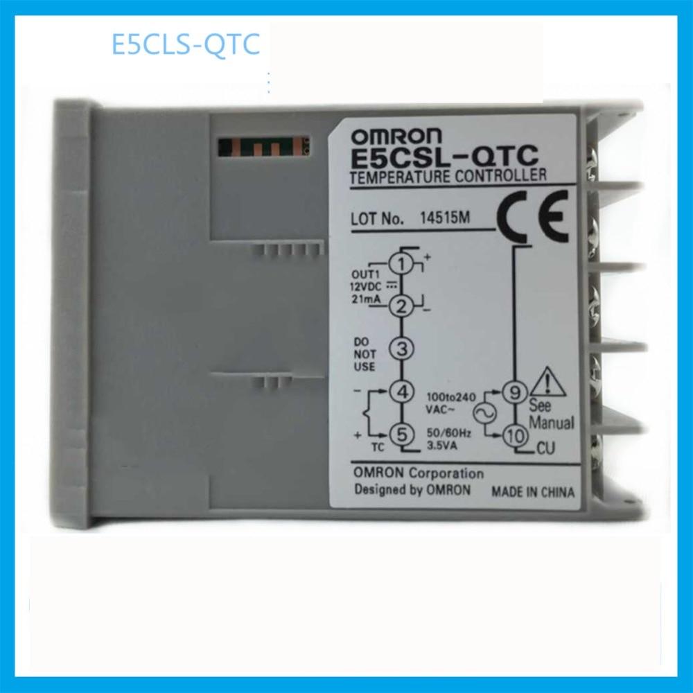 все цены на E5CSL-QTC trasporto libero digital termostato digitale regolatore di temperatura OMRON thermostat apparecchiature elettriche онлайн
