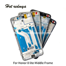 Get more info on the Middle Frame For Huawei Honor 8 Lite Housing Middle Bezel Plate Chassis With Power Volume Buttons Replacement Parts
