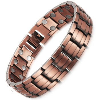 Bracelet Magnetique Cuivre Homme