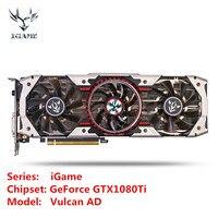 Colorful IGame GTX1080Ti Vulcan AD Gaming Video Graphic Card 1480 1594MHz 11GB GDDR5X 352bit SLI VR