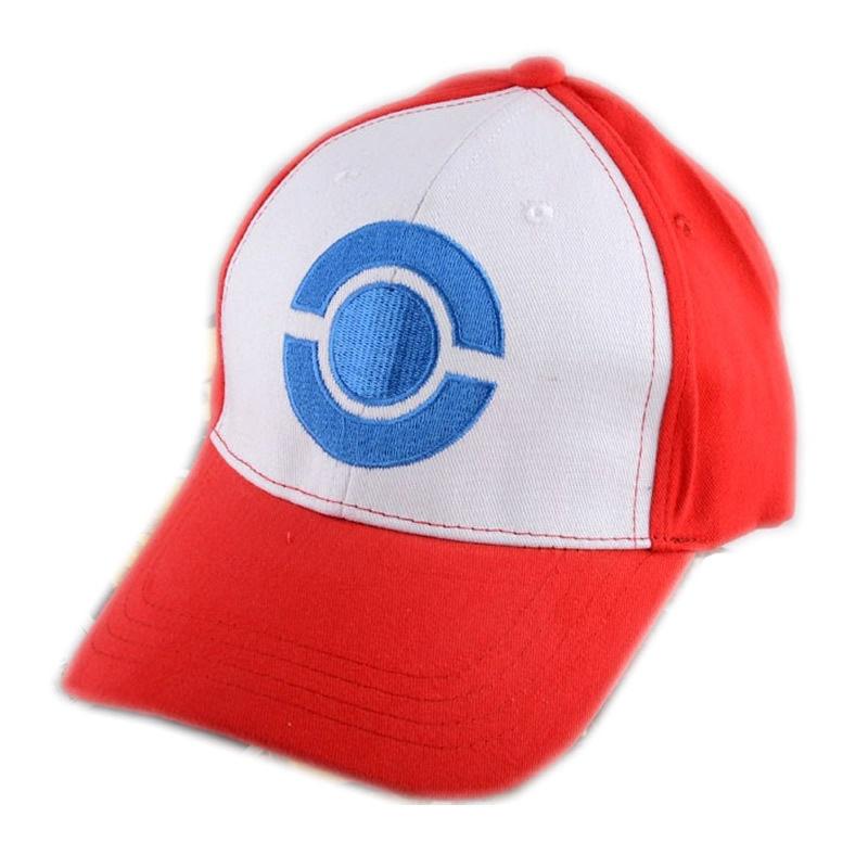 New Arrival Cosplay Anime Pokemon Hat Pocket Monster Pikachu Ash hat  snapback baseball Cap fbb108adba4