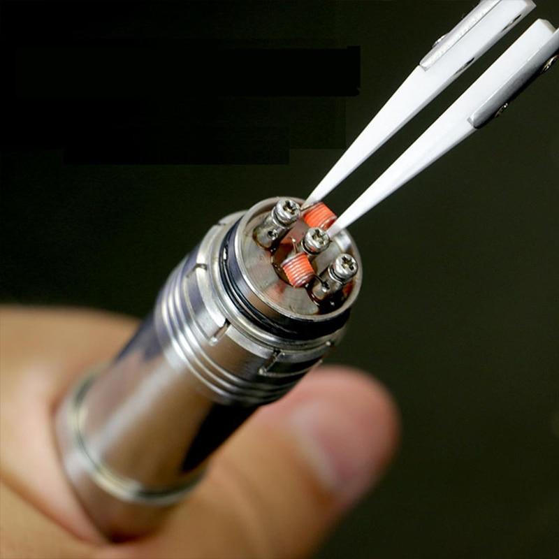 1 db antisztatikus kerámia csipesz Csipeszek Szigetelt rozsdamentes - Kézi szerszámok - Fénykép 5