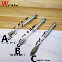 Hydraulic Lift Up Top Quality Pneumatic Gas Spring 80N Load Bearing Cabinet Kitchen Cupboard Support Hardware