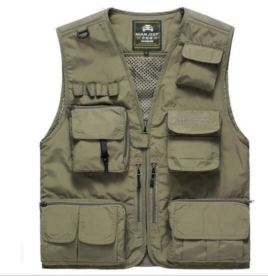 Hot Multi Pockets Vest Safari Vest Photographer Vest 15