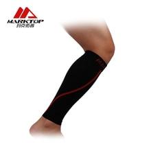 цена на Marktop Legwarmers Support Compression Sleeve Support Sports Leg Warmer Cycling Running Football Sock Protector Fluorescent 5199