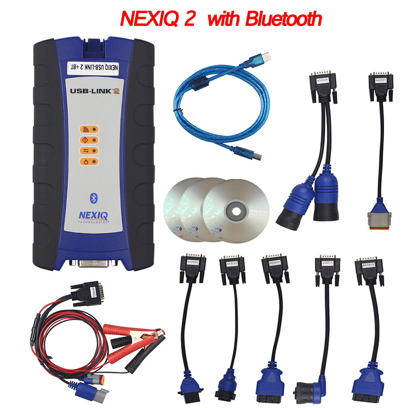 For Bus NEXIQ2 Auto Heavy Duty Truck Scanner Tool NEXIQ USB Link Nexiq 125032 USB Link NEXIQ2 USB/Bluetooth Better Than DPA5 vxtrucks v8 usb link bluetooth heavy duty diagnostic tool