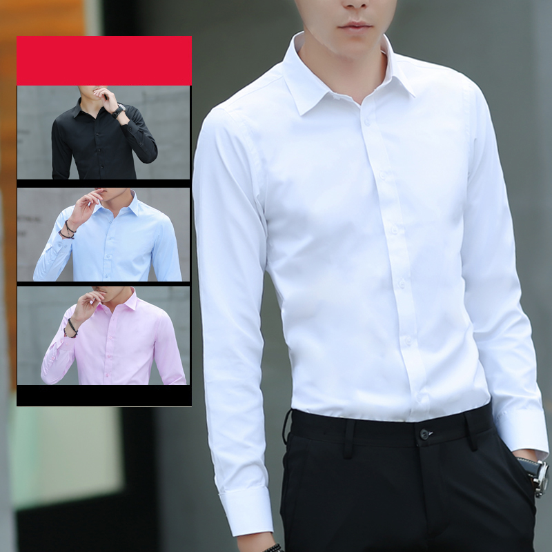Brand New Cotton Breathable Business Casual shirts Fashion Short Sleeve Male Tops Tee Fashion Stand Down Collar shirt ZT024 20